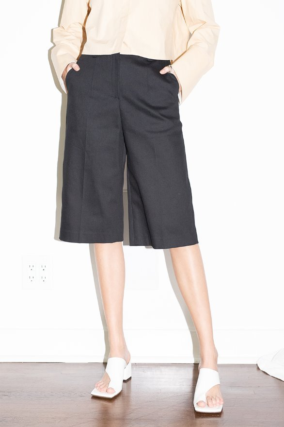 CULVER CITY bermuda shorts (Black)