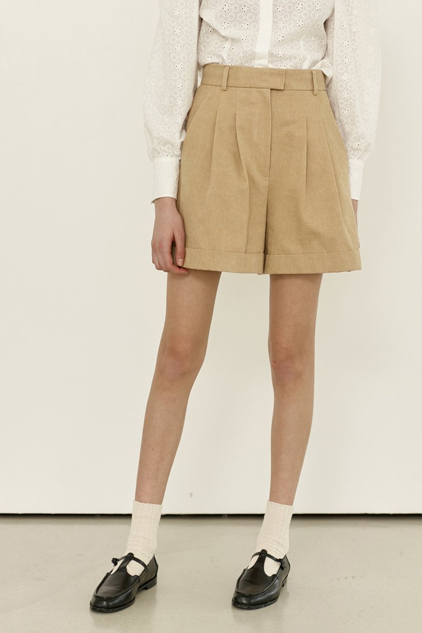 [앤유티비]SONGAK Short pants (Beige)