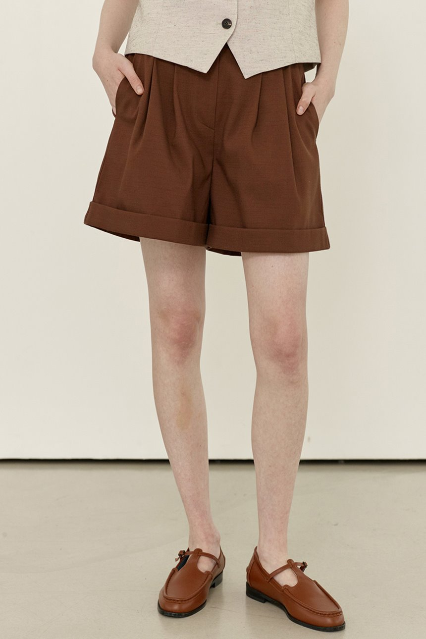 [앤유티비]SONGAK Short pants (Brown)