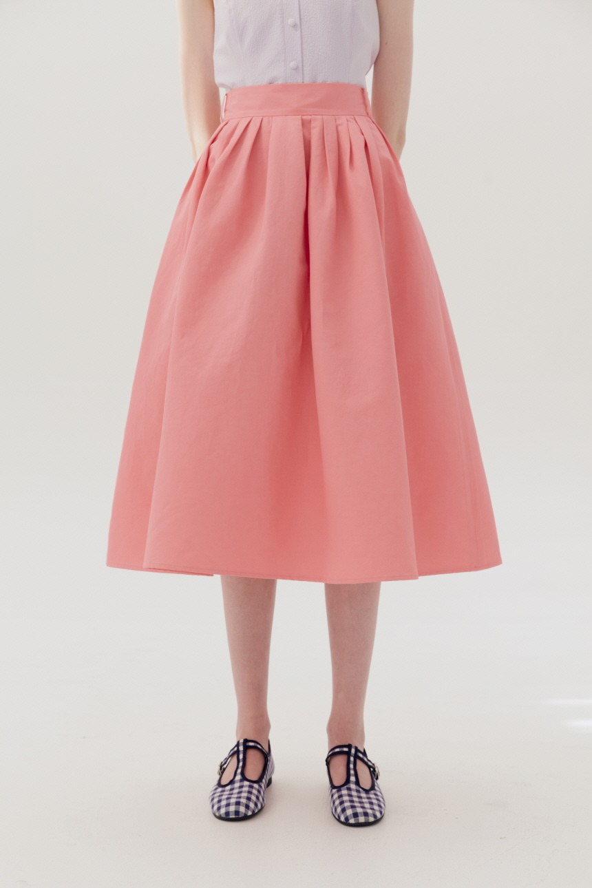 BOROMWAT Flared skirt (Pink)