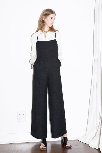 [앤유]VENICE BEACH camisole jumpsuit (Black)